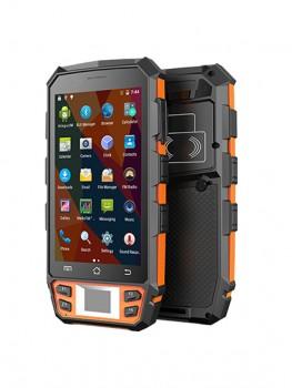 HB510 El Tipi Yüz Tanıma Parmak İzi Tanıma NFC ve Barkod Okuyucu