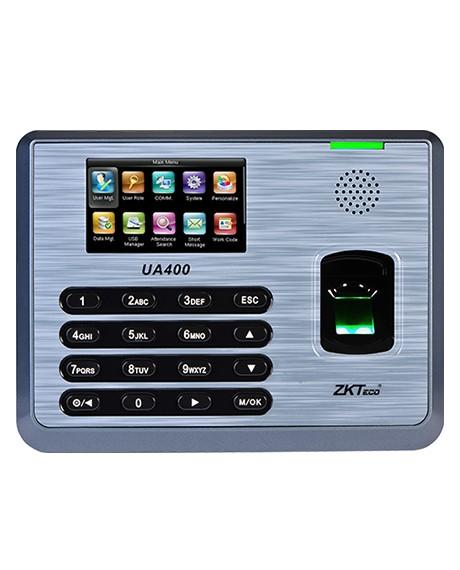 UA400 Parmak İzi Teknolojili Zaman Kontrol (PDKS) ve Erişim Kontrol Cihazı