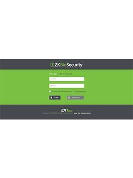 ZKBioSecurity-3200 Web Tabanlı Güvenlik Sistemi
