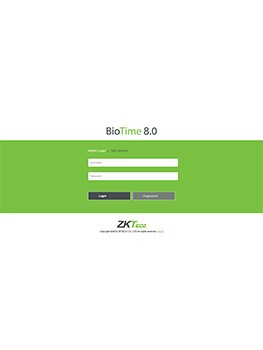BioTime 8.0 Zaman Kontrol(PDKS) Yazılımı