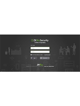 ZKBioSecurity-Online Hospitality