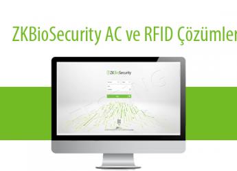 ZKBioSecurity AC Modülü ve RFID Çözümler